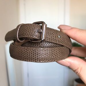 Ann Taylor brown belt Size Small